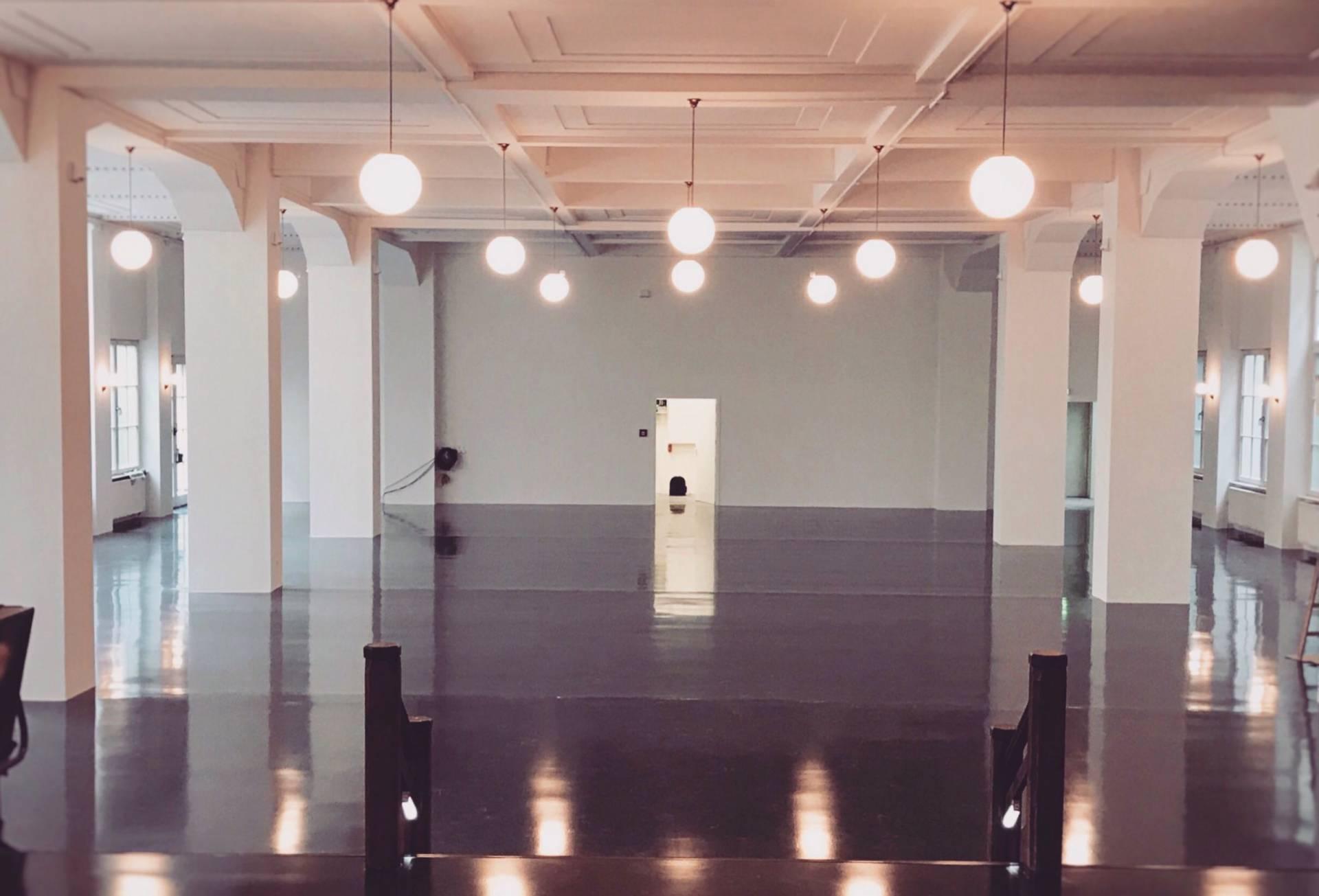 Umbau Kupfersaal August 2017 (Umbau zum Kupfersaal, Blick zum Saal)